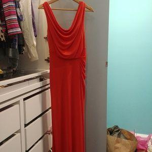 BCBG maxi dress size S like new